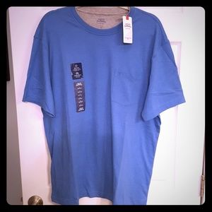 Blue Izod Saltwater relaxed classics tshirt